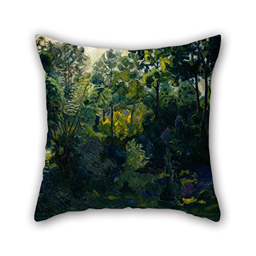 [Uloveme 16 X 16 Inches / 40 By 40 Cm Oil Painting Thorvald Erichsen - Wooded Landscape Pillow Covers,twin Sides Is Fit For Car Seat,dining Room,chair,bf,teens,deck] (Pictures Of Punk Rocker Costumes)