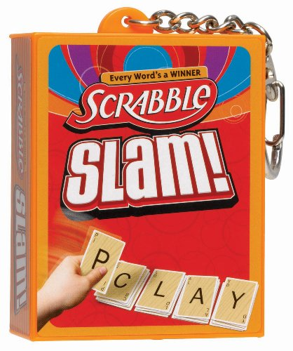 Scrabble Slam! Mini Card Game Keychain