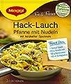 Maggi Fix und frisch für Hack-Lauch-Pfanne mit Nudeln, 12er Pack (12 x 42 g) von Maggi bei Gewürze Shop