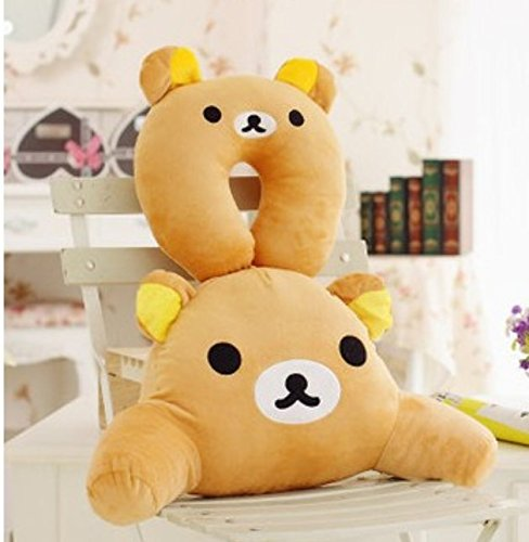 Bear Body Pillow back-272100