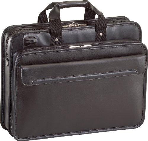 Targus TET028CA 17-Inch Commuter Leather Laptop Case (Black)