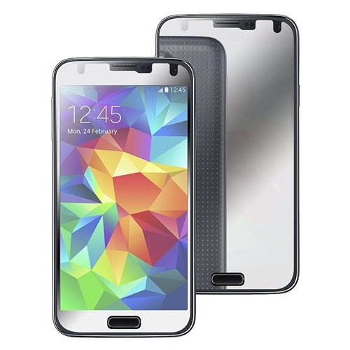 Eforcity® 2 Packs Mirror Lcd Screen Protectors Compatible With Samsung© Galaxy S5/ Sv
