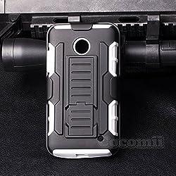 Nokia Lumia 630 / 635 Case, Cocomii [HEAVY DUTY] Nokia Lumia 630 / 635 Robot Case **NEW** [ULTRA FUTURE ARMOR] Premium Belt Clip Holster Kickstand Bumper Case [MILITARY DEFENDER] Full-body Rugged Dual Layer Hybrid Protectiv