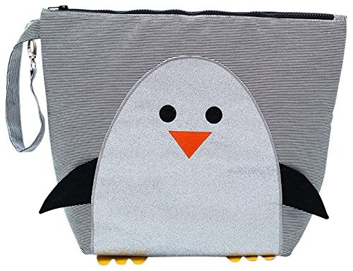 Nikiani Forever Young Collection Wet Bag & Backpack - Chili Silver Penguin - 1