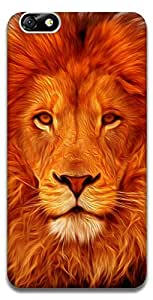 The Racoon Grip Face of the Lion hard plastic printed back case / cover for Huawei Honor 4X
