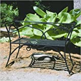 Achla Designs Arbor Bench with Back