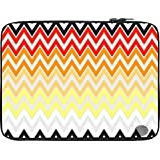 Snoogg Rainbow Shades Pattern 2575 13 To 13.6 Inch Laptop Netbook Notebook Slipcase Sleeve