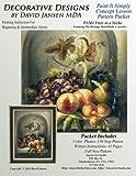 P1201 Fruit in a Niche: Paint It Simply Concept Lesson