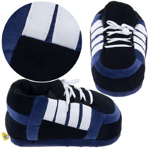Image of Navy Sneaker Slippers for Women (B0077QU2FS)