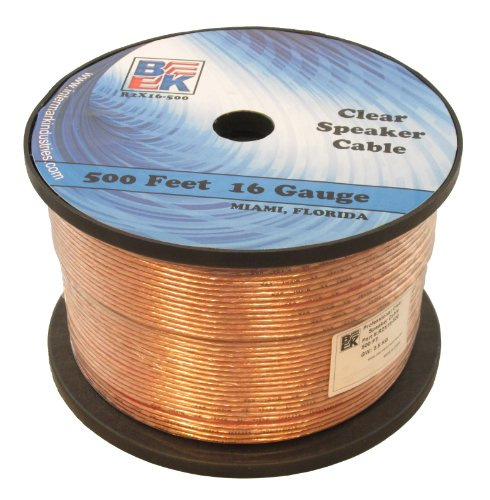 Blast King Ir2X16-500 16 Gauge 500-Feet Speaker Wire