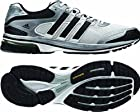 New Adidas Men's Supernova Glide 5 Running Shoes White/Black 9.5