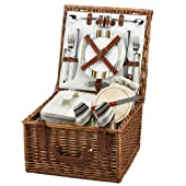 Picnic at Ascot Cheshire Basket for 2 , Santa Cruz