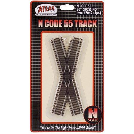 N Code 55 30 Degree Crossing - Buy N Code 55 30 Degree Crossing - Purchase N Code 55 30 Degree Crossing (Atlas Model Railroad, Toys & Games,Categories,Play Vehicles,Trains & Railway Sets)