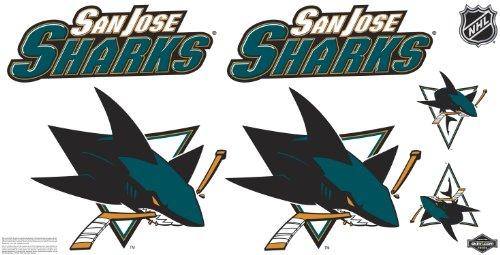 Skinit NHL San Jose Sharks Skinit Car Decals Medium - 49-by-25-Inch