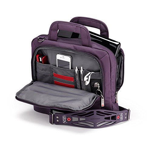 i-stay 13.3 inch Tablet/Netbook/Ultrabook Bag with Non-slip Shoulder strap - Purple