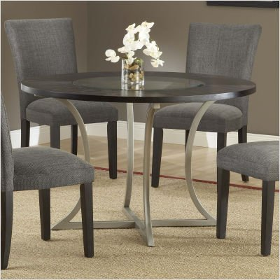 Dining Table Wood Glass Insert Dining Table