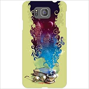 Design Worlds - Samsung Galaxy Alpha G850 Designer Back Cover Case - Multic...