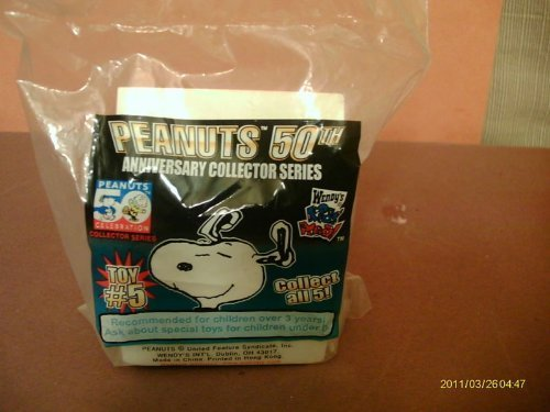 PEANUTS 50TH ANNIVERSARY TOY #5 WENDY'S KIDS MEAL - 1