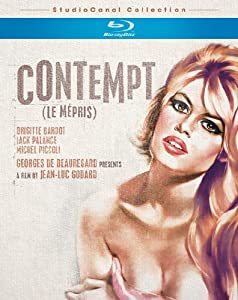 Cover of &quot;Contempt  [Blu-ray]&quot;