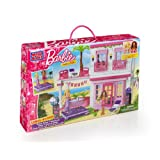 Mega Bloks Barbie Build 'n Style Beach House, Multi Color