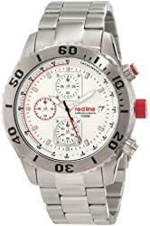 red line Men's RL-50041-22 Simulator Chronograph White Dial Watch