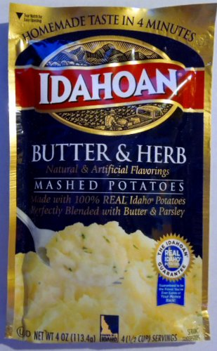 Idahoan Butter & Herb Mashed Potatoes - 2 Of 4 Oz