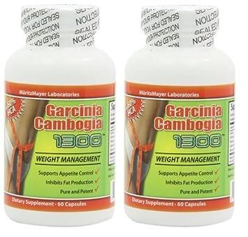 Отзывы Garcinia Cambogia Extract 1000mg 60 Capsules Premium Garcinia Cambogia 1300 By Maritzmayer - With Potassium - 60% HCA Extract - 1,000 Mg Per Serving