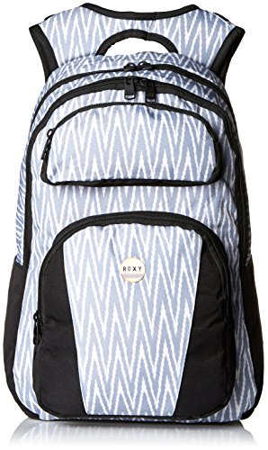 Roxy Junior's Drive Out Polyester Backpack, Ikat Chevron Seaspray, One Size