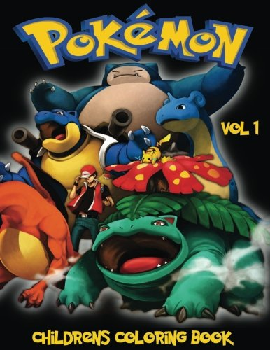 Pokemon Children's Coloring Book Vol 1: In this A4 size Coloring Book, we have captured 75 catchable creatures from Pokemon Go for you to color. (Pokémon Children's Coloring Book) (Pokemon Coloring Book compare prices)