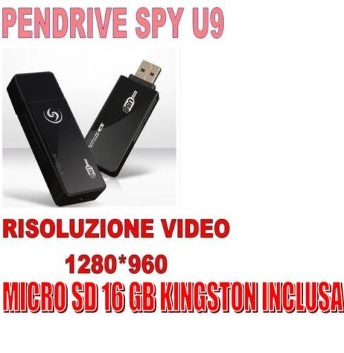 STICK SPY HIDDEN U9 1280x960 Video-Bewegungsmelder + MICRO SD 16 GB!