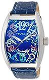 [フランク三浦]MIURA 六号機(改) 禁断の巨大化モデル 完全非防水 腕時計 ジャパンクオーツ FM06K-CRBL