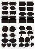 Cristina Complete Bundle of 39 Unique Chalkboard Labels - Premium Stickers for Jars