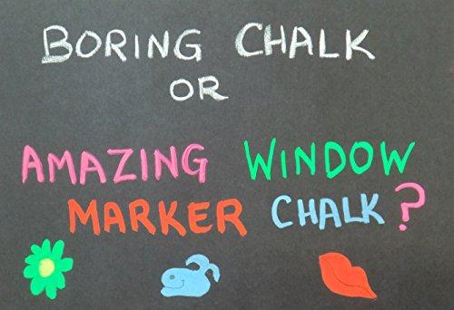 How To Get Window Chalk Off Car Windows