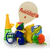 Fiddle Kit - Motor Skills - Juggling balls, Koosh ball, Bat & ball, Bean bag, Catch-it cones