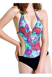 ANGEL SECRET One Piece Bathing Suit Swimsuits