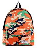 Cute Camo Travel Backpack for School Teenage Holds 13-inch Laptop - Multicam
