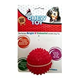 Super Dog Spiked Rubber Dog Ball