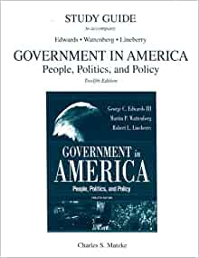 American Government - CliffsNotes Study Guides