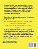 English in Films Aladdin Bambi Cinderella The Little Mermaid Pocahontas: ESL Study Packets for Kids