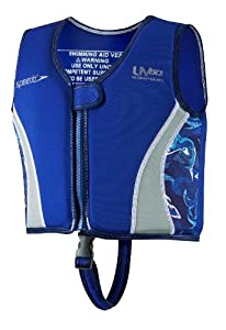 Speedo Kid's UV Neoprene Swim Vest, Blue, Large
