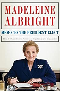 "Cover of ""Memo to the President Elect: Ho..."