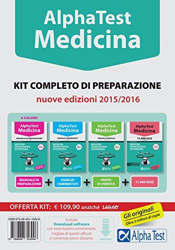 Alpha test Medicina odontoiatria veterinaria Kit completo di preparazione Con test di simulazione PDF