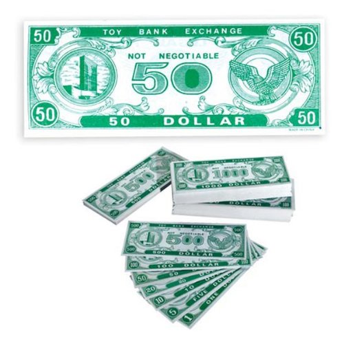 Play Money $50 (1000 ct)