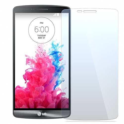 LG G3 S/Mini Vigor Screen Protector, NEVEQ Premium Tempered Glass Screen Protector for LG G3 S/Mini Vigor LS885/D722/D725, 5 Inches Display 9H Skin Cover Protection and Ultra-Thin Technology (Lg G3 S D722 Case compare prices)