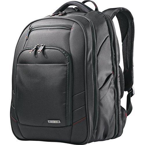 Xenon 2 Laptop Backpack, 12.25 x 8.25 x 17.25, Nylon, Black