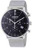 Junkers Herren-Armbanduhr XL Bauhaus Chronograph Quarz Edelstahl 6086M2