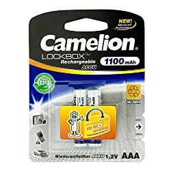 Camelion AAA 1100mAh Rechargeable Battery -2Nos Pack