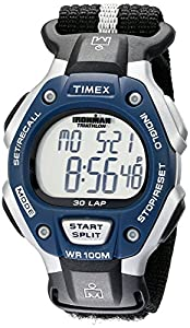 """Timex Men's T5H421 """"Ironman Traditional"""" Sport Watch with Black Nylon Band"""