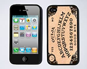 Ouija Board iPhone 4 / 4s case By Little Brick Press (Hard Silicone Rubber Case)