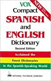 Vox Compact Spanish and English Dictionary (0844279862) by Vox